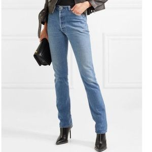NEW Re/Done Levi's The Crawford Straight Jeans